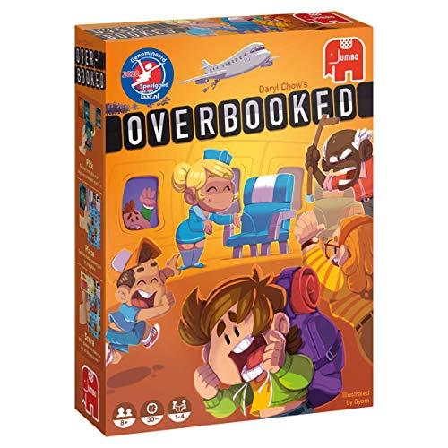 Jumbo Spiele - Overbooked - Gesellschaftsspiel - AB 8 Jahren