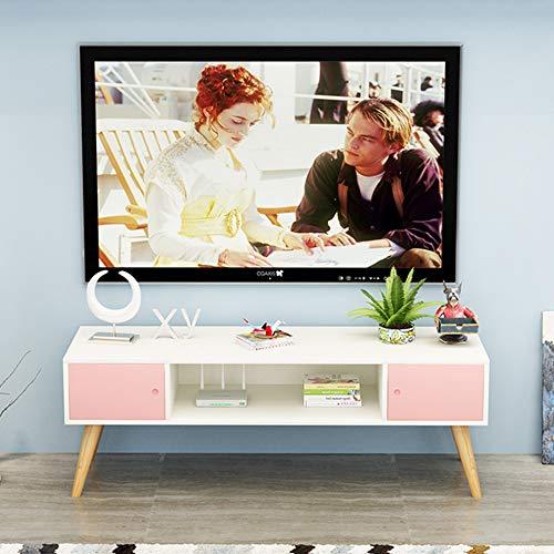 Nordique En Bois Assemblé TV Cabinet Salon Casier Étagère Fleur Chambre Rack De Stockage Décoration De La Maison,A