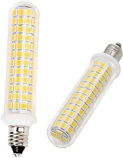 E11 Led Bulb 10 Watt Equivalent 100W Halogen Bulb, JD T3/T4 E11 Mini Candelabra Base, AC110V 120V E11 Light Bulbs for Indoor Lighting, Warm White 3000K Dimmable 2-Pack