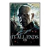 ADNHWAN Ralph Fiennes Leinwand Malerei Kunst Poster Drucken