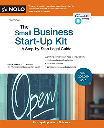 Small Business Start-Up Kit, The: A Step-by-Step Legal Guide