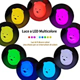 Zoom IMG-2 luce notturna bambini in silicone