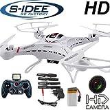 s-idee® 01251 Quadrocopter S183C HD Kamera 4.5 Kanal 2.4 Ghz Drohne mit Gyroscope Technik