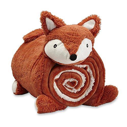 Kids' Cuddle Friend Throw & Pillow - Fox