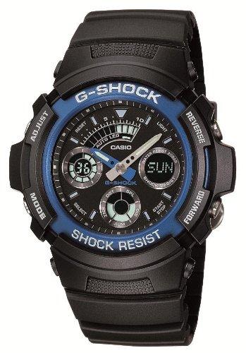 [カシオ] 腕時計 ジーショック AW-591-2AJF ブラック