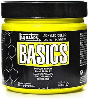 Liquitex Basics Acrylics Colors (Primary Yellow) - 32 oz. 1 pcs SKU# 1836349MA