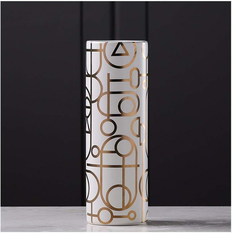 Creative Vase en Céramique Décoration Modèle Chambre Salon Table Décoration Vase à La Maison (Edition   A)