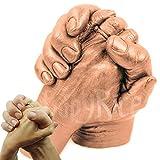 Kit de fundición a mano para adultos con selección de pinturas metálicas (cobre)