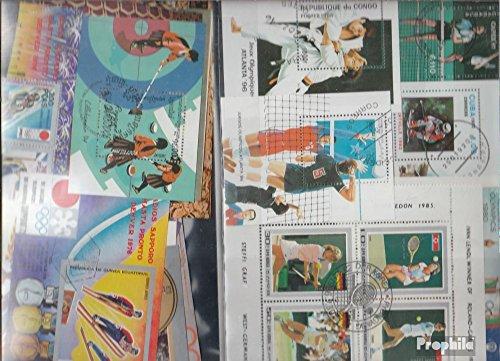 Prophila Collection Motivazioni 25 Diversi Sport Blocchi (Francobolli per i Collezionisti) Altri Sport