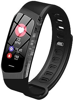 Reloj Deportivo 0,96 Pulgadas Step Tracker Smart Band Calorie (Color: Negro)