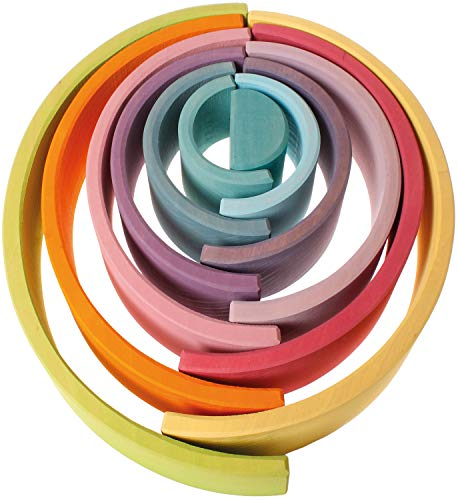 Grimm's Regenbogen 12-teilig Pastell - 3