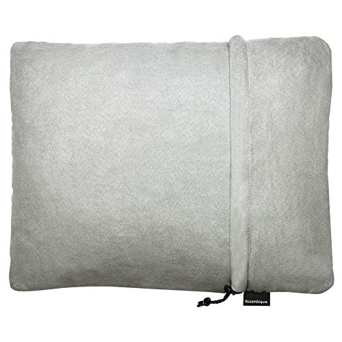 Mozambique(モザンビーク) キャンプ 枕 ピロー トラベルピロー 携帯枕 【キャンプでもぐっすり寝られるように】 (グレー)