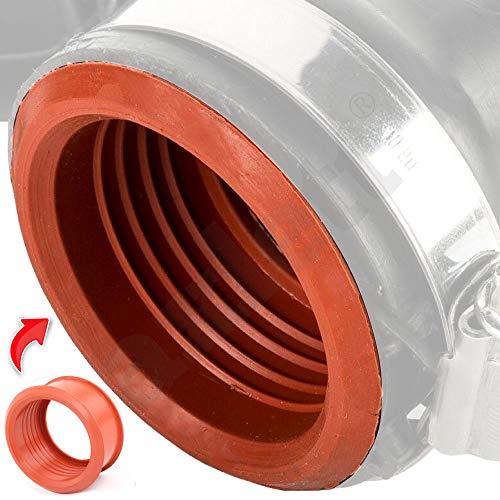 axlett Manguito de goma para manguera Aire Turbo 1.6 HDi | Peugeot 206 207 307 308 407 3008 5008 Expert Partner Citroen C2 C3 C4 C5 Berlingo Jumpy | Multijet FIAT Scudo | MINI 1.6 Cooper D | 1434C8