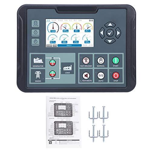 Controlador de generador electrónico, controlador de grupo electrógeno de plástico AC80‑360V, para pantalla de potencia de medición de potencia del generador
