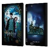 Oficial Harry Potter Póster de Ron, Harry y Hermione Prisoner of Azkaban IV Carcasa de Cuero Tipo Libro Compatible con Amazon Kindle Fire HDX 8.9