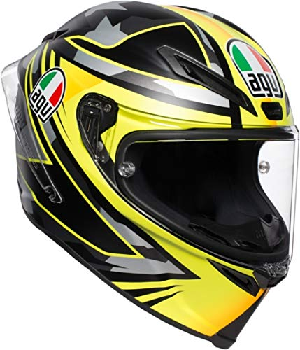 AGV CASCO CORSA R MULTI MPLK CASANOVA BLACK/RED/GREEN S XL negro/amarillo
