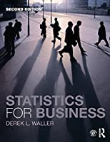 Statistics for Business, 2nd Edition Front Cover