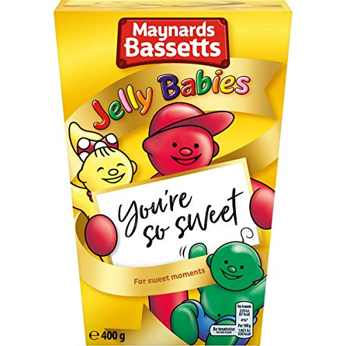 Bassetts Jelly Babies Carton (400g) Pack of 2