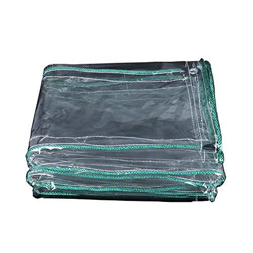Asnvvbhz Schutzplane Plane Wasserdicht Plane Blatt Balkon Regen Vorhang Sonnencreme Tuch PVC Verdickung Kunststoff Tuch wasserdichte Picknickdecke (größe : 1.8×4M)