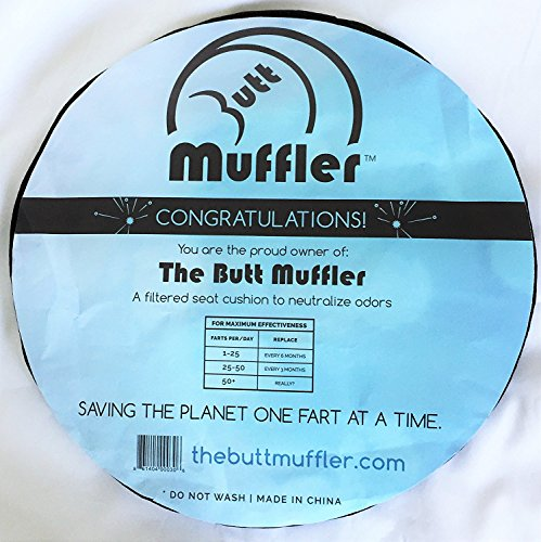The Butt Muffler, Filtered seat cushion to neutralize odors