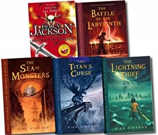 Percy Jackson & the Olympians Boxed Set: The Lightning Thief, the Titan's Curse, the Sea of Monsters, the Battle of the La...