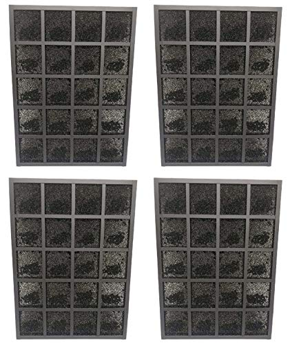 Nispira Activated Carbon Pre Filter Replacement Compatible with Sharp FZ-A80DFU Plasmacluster Air Purifier Model FP-A60UW and FP-A80UW, 4 Units