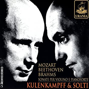 Mozart, Beethoven, Brahms: Violin Sonatas