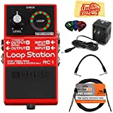 Best Loop Pedals - Boss RC-1 Loop Station Bundle with Power Supply Review