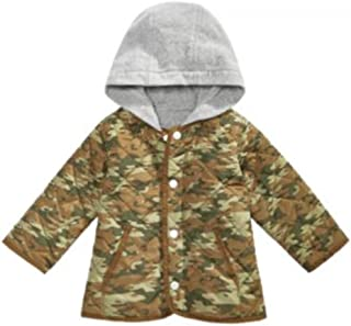 First Impressions Baby Boy Hooded Camo Jacket