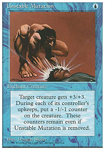 Magic The Gathering - Unstable Mutation - Fourth Edition