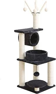 TM26 Cat Climbing Frame Sisal Cat Scratching Post Cat Tree Cat Litter Cat Jumping Table Solid Wood Toy Four Season Rattan Mat Scratch Board