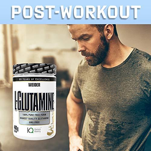 Weider L-Glutamine, 400 g - 5
