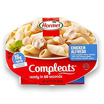 HORMEL COMPLEATS Chicken Alfredo Microwave Tray 10 Ounces  Pack of 6