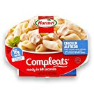 HORMEL COMPLEATS Chicken Alfredo Microwave Tray, 10 Ounces (Pack of 6)