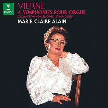 Vierne: 4 Symphonies pour orgue (À l'orgue de l'abbatiale Saint-Étienne de Caen)