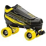 Roller Derby Patins à roulettes pour homme Sting 5500 Noir Noir/jaune 6 US/39 EU