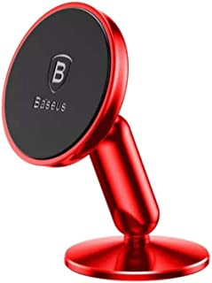 Baseus Holder And Grip Stand For Mobile Phones- Red, SUYZD- 09