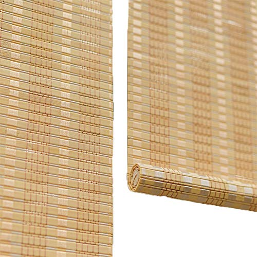 LXF Estores Enrollables Cortinas enrollables para Ventanas Exteriores de Puertas, Cortina Enrollable de Estilo japonés con Gancho, 1/1.2/1.4/1.6/1.8/2 / 2.2/2.4/2.6/2.8/3 m de Largo