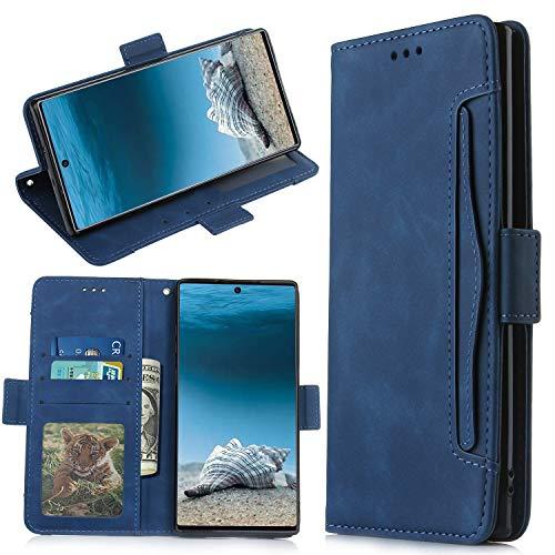 QiongniAN Cover per Samsung Galaxy Note 10+ 5G,Custodia per Samsung SM-N976V Galaxy Note 10+ 5G / SM-N976U SM-N976B SM-N976N SM-N9760 Custodia Case Cover Blue