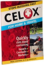 CELOX First Aid Temporary Traumatic Wound Treatment 2g, 10-Pack