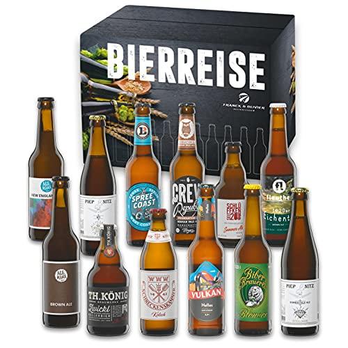 Limitiertes Premium Craft Bier Paket - mit prämierten Bieren. Lemke Berlin, Crew Dog, Ale-Mania, Biber, insgesamt 12 ausgewählte Biere - handwerklich hergestellt - exklusives Paket - Pfand inklusive