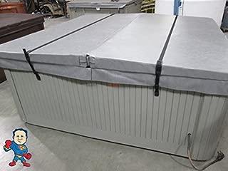 2 pc Wind Strap Kit Hot Tub Secure ACW Loc Spa Hurricane Tie Down