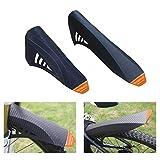 FETESNICE MTB Kotflügel, Mountain Bike Schutzblech, Mudguard MTB Kotflügel vorne/hinten, passend für 26', 27,5', 29', Plus Size und Fat Bike-Radgrößen (A-Gelb)