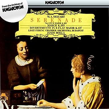 Mozart: Serenade No. 3 / March in D Major, K. 189 / Salzburg Symphony No. 2