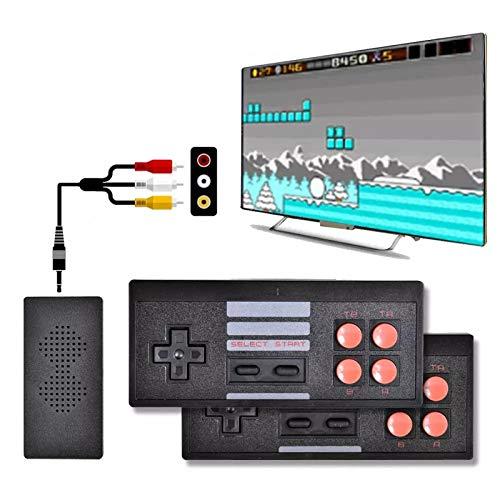 Mini consola de juegos retro clásica, nueva consola de videojuegos AV integrada 620 juegos clásicos retro consola inalámbrica controlador salida AV, Happy Childhood Memories