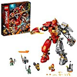 LEGO NINJAGO Fire Stone Mech 71720 Building Kit Featuring LEGO Ninja Mech, New 2020 (968 Pieces)