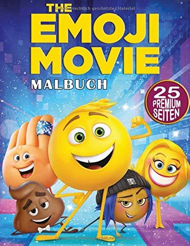 The Emoji Movie Malbuch: Tolles Malbuch für Kinder, Jungen, Mädchen, Kleinkinder, Kinder im Vorschulalter