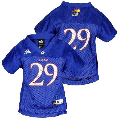 Adidas NCAA Kleinkind Kansas Jayhawks 29Basketball Jersey,, Blau