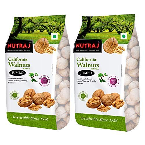Nutraj Signature California Walnuts 1000G (Pack of 2)