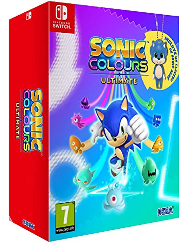 Sonic Colours Ultimate Day One Edition, Switch Esp